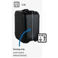 מיכל HDPE אנטי-סטטי, S 50, פס מילוי