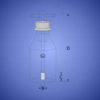 בקבוק שטיפת גזים