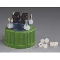 מפצל לבקבוק HPLC עם ברזים