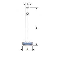 צינור להפצת גז עם סינטר