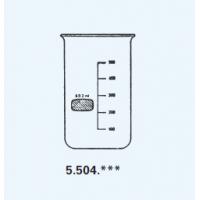כוס כימית גבוהה ללא פיה
