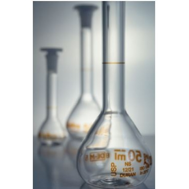 בקבוק מדידה שקוף USP