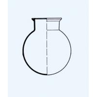 ריאקטור זכוכית עגול עם פלאנטש