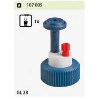 פקק GL 28 יציאה 1 ברז 1