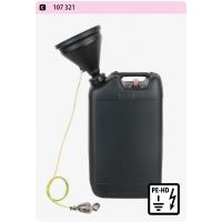 מיכל ריקון HDPE-EC 20 ליטר עם בקרת מילוי והארכה